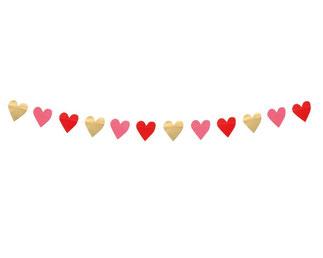 Papieren Slinger LOVE 2m € 3,25