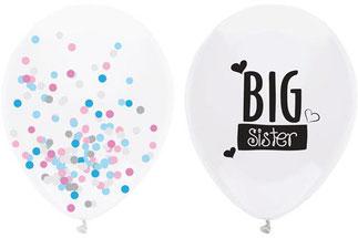 Ballonnen Big Sister € 3,90 2 st.