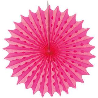 Honeycomb Neon Roze 45 cm € 2,75