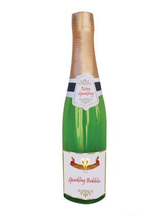 Opblaasbare Champagnefles Sparkle € 4,95 76cm
