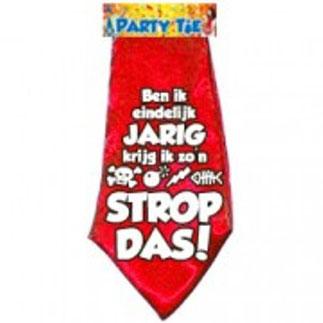 Party Tie Verjaardag € 3,95
