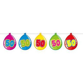 """Slinger Ballonnen """"50"""" 10m € 2,99"""