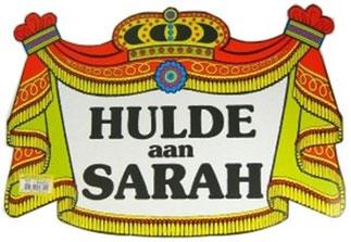 Huldeschild € 2,00