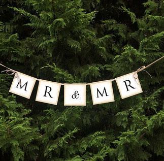 Letterslinger Mr&Mr 64cm € 2,99