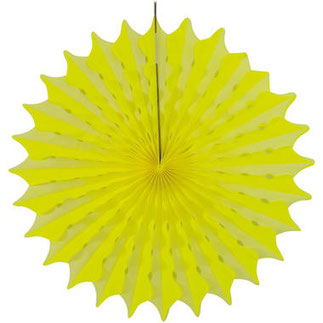 Honeycomb Neon Geel 45 cm € 2,75