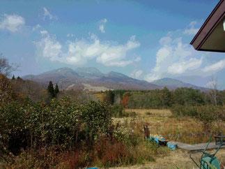 お天気が心配されましたが、今日も雄大な妙高山を見ることができました