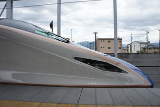 乗車から20分。アッという間に長野駅に到着
