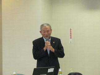 講師の「元気印の会」斉藤さん。ありがとうございました