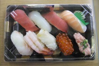 地元・上越の定番、「富寿司」さんの握り