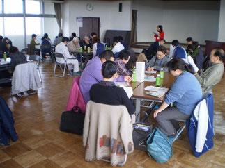 先ずは、上越市の高齢者福祉施策の動向について、共有しました
