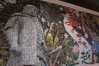 6,000人以上の顔写真で作ったギャザリングアートも必見!