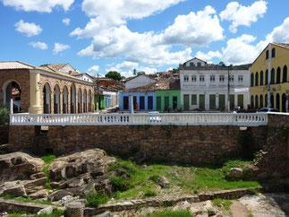 Centro histórico de Lençoís