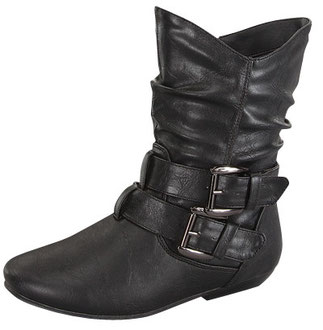 Girls fashionable stylish flat under knee boot with side buckle decorated  Newest and most recent arrive shoes for 2013. They are still HOT! and selling Fast!  We strongly suggest you order it while they still in stocks. PRICE €61.50