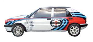 lancia delta 16v integrale complete graphics sponsor livery martini sportine edition pubblimais