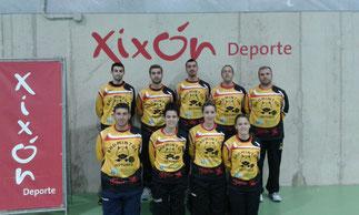 Equipo Astures de Primera División Nacional 2014/2015