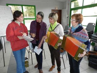 Stage accordéon