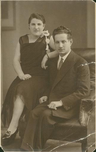Anna und Abraham Kott