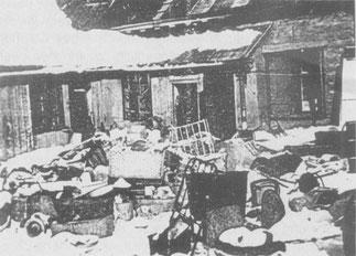 Das Ghetto Riga nach dem Massenmord an den lettischen Juden
