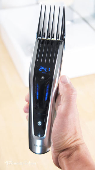 Philips Haarschneider mit 40mm Kamm, aufsteckkamm 40mm, haarschneider aufsatz 40mm