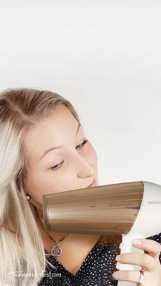 Philips Föhn für dickes Haar, fön für dickes haar