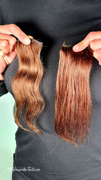 sante naturrot auf braunem haar, sante naturrot vorher nachher, Sante naturrot vorher nachher
