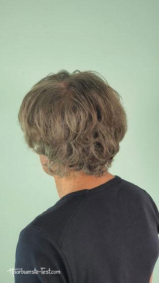 GHD Rise Volumenbürste bei kurzen Haaren