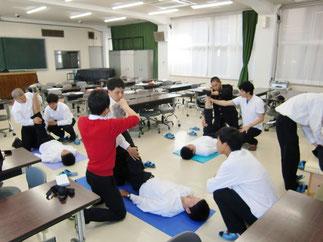 米子松蔭高校授業