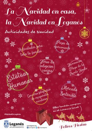 La Navidad en Leganés: programación