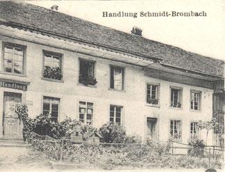 Die Handlung im Unterdorf bestand als Toura-Laden bis ca. 1980 weiter.