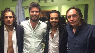 Farru, Paco Montalvo, Farruquito y Vicente Amigo