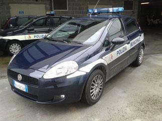 Fiat Grande Punto con allestimento trasporto fermati