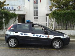 Fiat Grande Punto - in dotazione alle Pattuglie di Zona