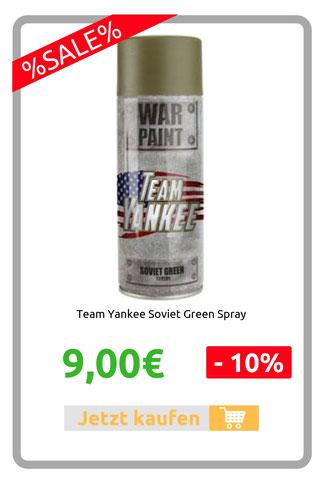 Team Yankee Soviet Green Spray