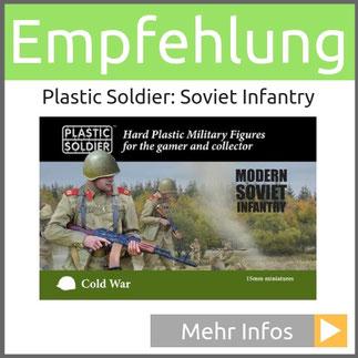 Plastic Soldier 15mm Cold War Soviet Infantry (Plastic)