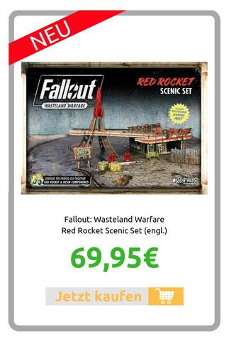 Fallout: Wasteland Warfare Red Rocket Scenic Set (engl.)