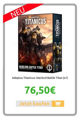 Adeptus Titanicus: Warlord Battle Titan (x1)