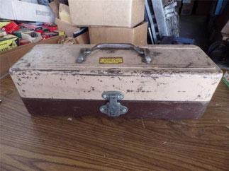 ウォルトンのスチールボックスです。SOLDOUT