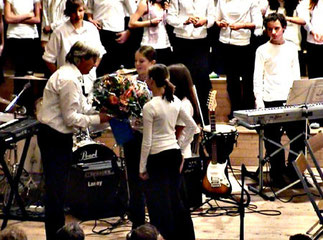 Dank an den Chorleiter