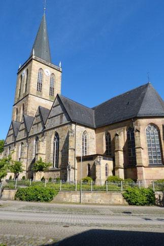 Die St. Andreas Kirche in Emsbüren