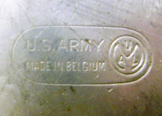 Gamelle belge pour l'US army