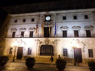 La mairie sur la Plaça de Cort