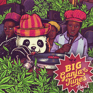 big ganja tunes 2, reggae music