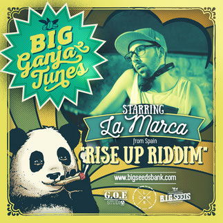 rise up riddim la marca, big ganja tunes 2016