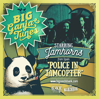 police in jamcopter jamhorns big ganja tunes 2016