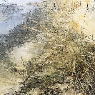 Öl, 100 x 100 cm