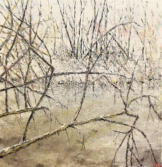 Öl, 80 x 80 cm