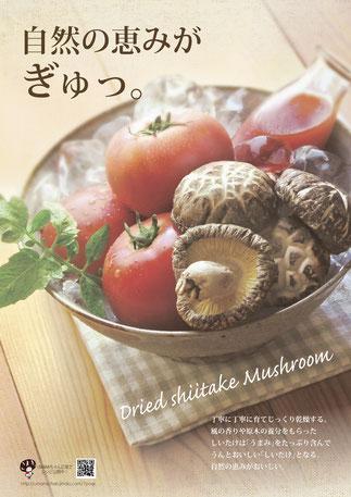 椎茸&トマトポスター