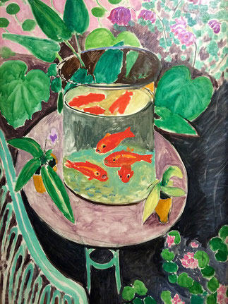 matisse les poissons rouges cycle 2