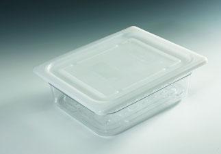 GN Behälter 1/2 mit Deckel und Abtropfeinsatz, FMU GmbH, Verkaufshilfen
