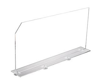 Warentrenner Acryl transparent, Artikel 9909018, FMU GmbH, Warentrenner, Blickfang